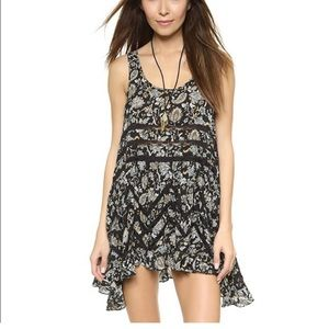 Intimately free people voile trapeze slip dress L